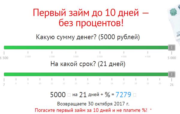 кредит почта банк условия калькулятор