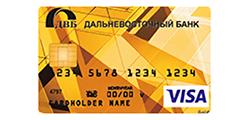 Дальневосточный Банк (Visa Gold)