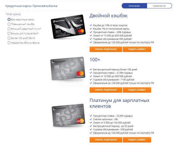 промсвязьбанк оформить кредитную карту как сделать чтобы одобрили кредит на телефон