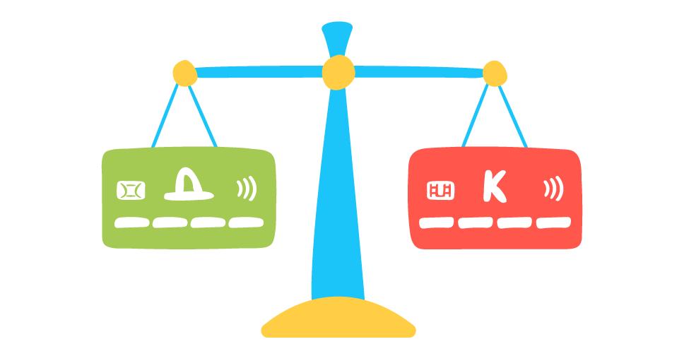 Чем отличается дебетовая карта от кредитной — как узнать какая карта?